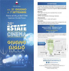 Programma Estate Cinema